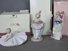 Nao - Three boxed figurines comprising Dance Class # 1283,