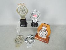 Automobilia - A small collection of Automobile Association (AA) and Royal Automobile Club (RAC)
