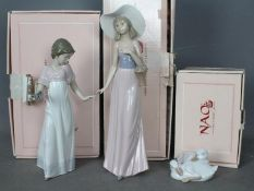 Nao - Three boxed figurines comprising To Light The Way # 1155,