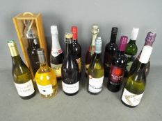 A quantity of red and white wine (qty)