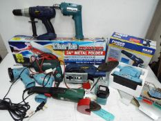 """Power Tools collection + 24"""" Metal Folder."""
