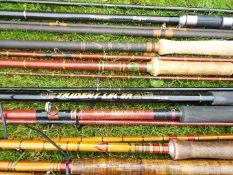Seven x Fresh / Course / Fly fishing rods - Jack Stevens Cradley Heath De-Luxe Salmon rod,