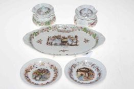 Nine pieces of Royal Doulton Brambly Hedge, mostly 'season' pieces. Condition: All Good.