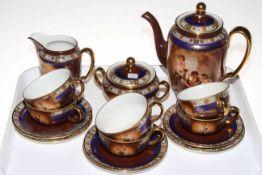 Josef Dutz Stare Role fifteen piece tea set. Condition: All Good.
