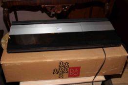Technics and Bang & Olufsen hi-fi equipment comprising Beocentre 2200, Technics CD players SL-PS50,