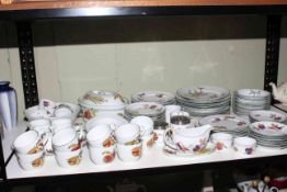 Collection of Royal Worcester Evesham Vale including tureen.