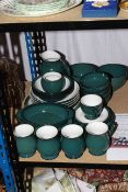Collection of thirty one pieces of Denby 'Greenwich' table crockery.