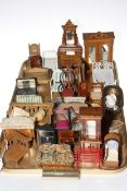 Collection of assorted dolls furniture.