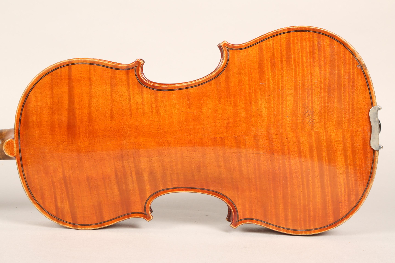 Violin by Jean Baptiste Collin Mezin, dated 1887. Interior label CH J B Collin-Mezin, Luther A - Image 8 of 14