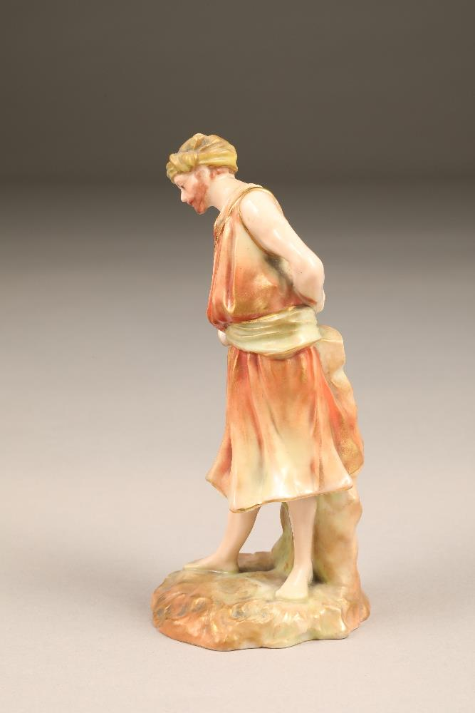 Nautilus porcelain figure, the water carrier, 17cm high. - Image 5 of 5