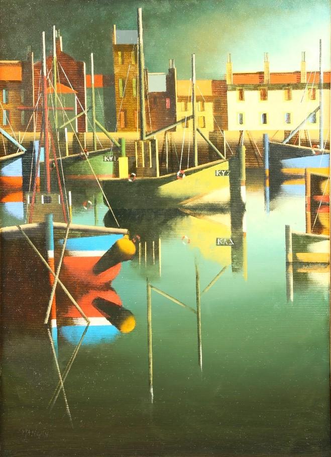 Stephen Mangan (Scottish Born 1964) Framed oil on canvas, signed 2020 - Image 2 of 2