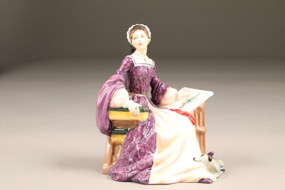 Royal Doulton bone china figure, limited edition, Mary Tudor, HN 3834, No 461/5000.
