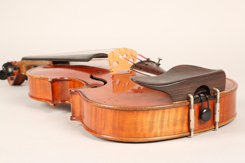 Violin by Jean Baptiste Collin Mezin, dated 1887. Interior label CH J B Collin-Mezin, Luther A - Image 5 of 14