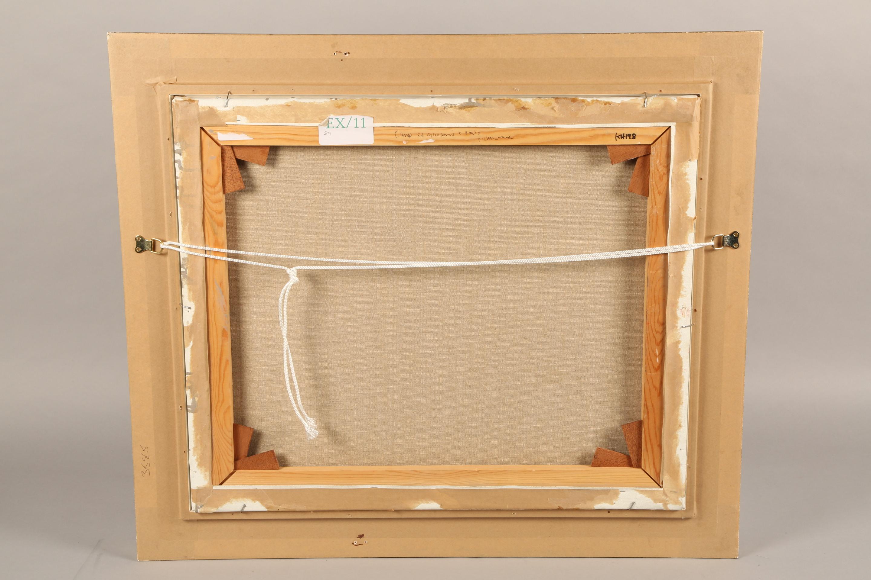 Ken Howard OBE RA RBA NEAC (British born 1932) ARR Framed oil on canvas, signed 'Campo SS Giovanni E - Image 5 of 5