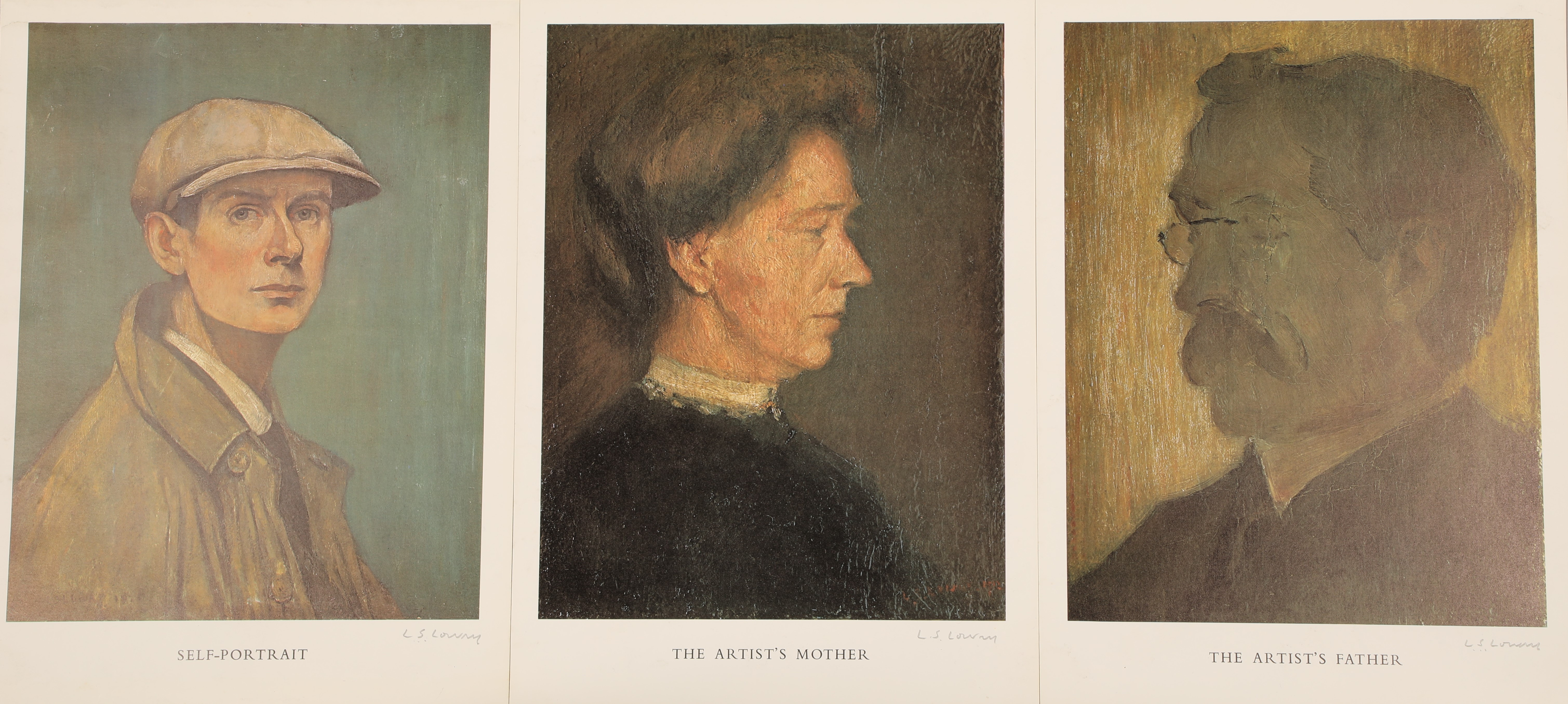 Laurence Stephen Lowry (British 1887-1976) ARR Limited edition set of three prints all hand signed - Image 3 of 3