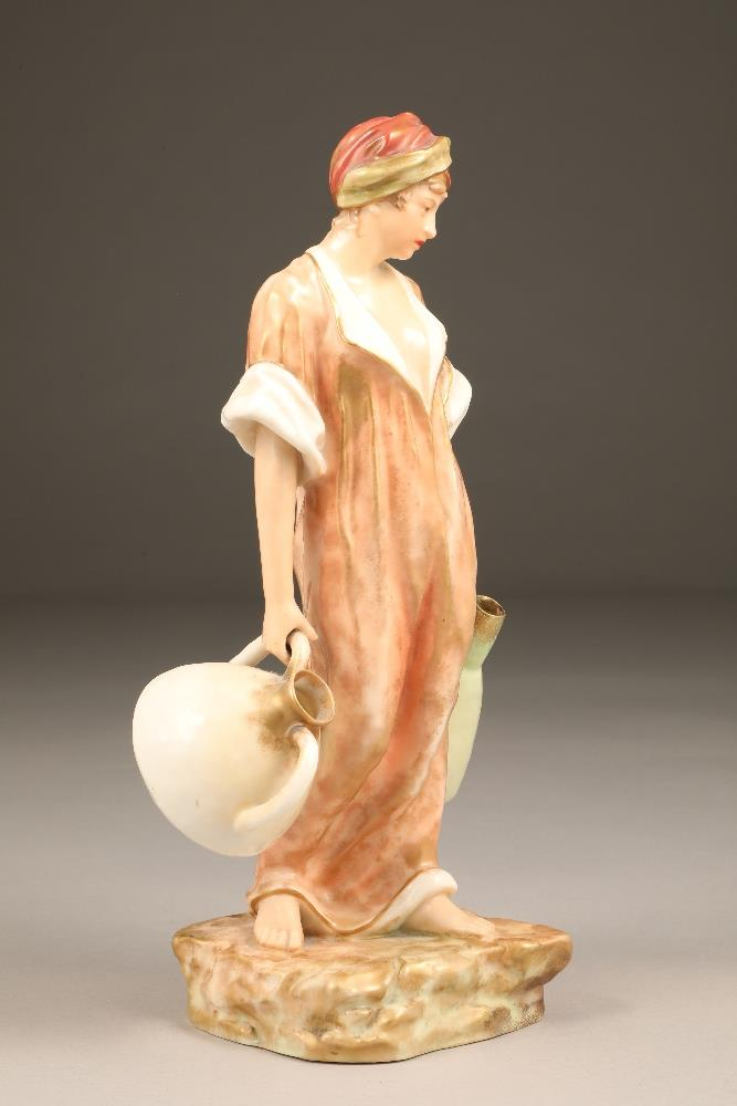 Nautilus porcelain figure, the water carrier, 35.5cm high. - Image 2 of 5