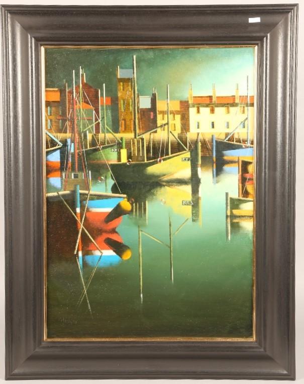 Stephen Mangan (Scottish Born 1964) Framed oil on canvas, signed 2020