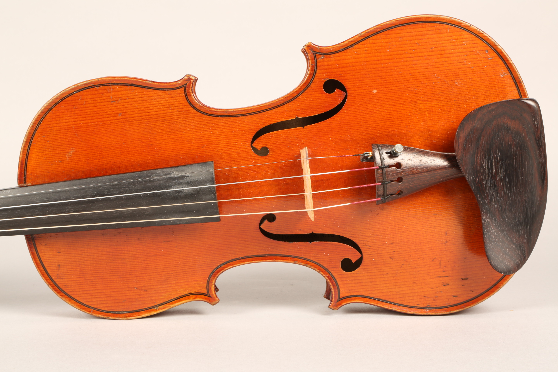 Violin by Jean Baptiste Collin Mezin, dated 1887. Interior label CH J B Collin-Mezin, Luther A - Image 6 of 14