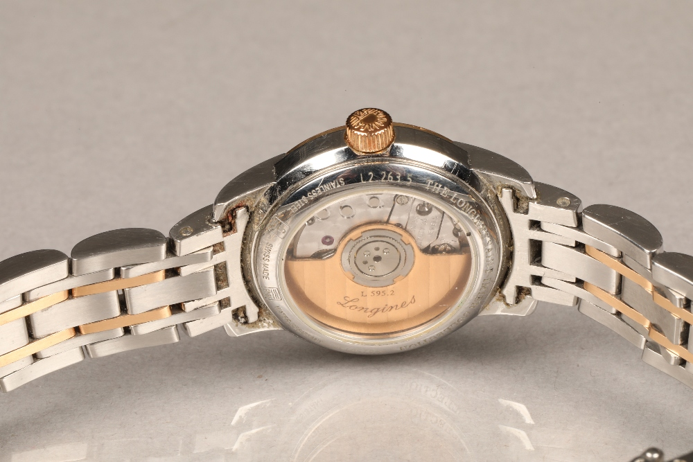Ladies Longines Saint-Imier Collection automatic stainless steel bracelet watch, mother of pearl - Image 3 of 6