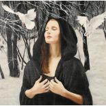 Gerard M Burns (Scottish Born 1961) ARR Framed oil on canvas, signed 'A Winters Dream'