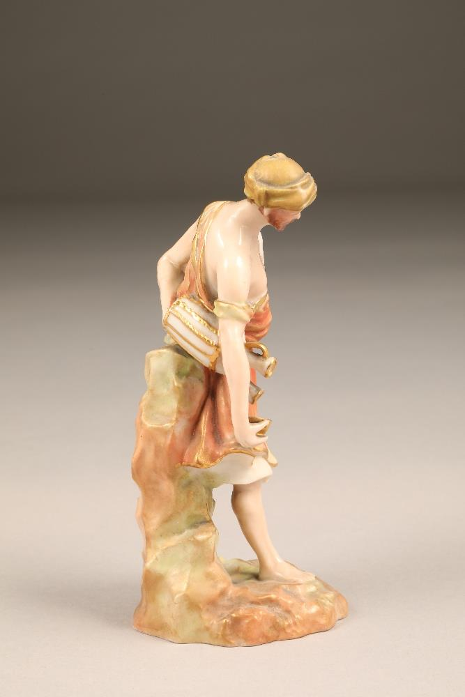 Nautilus porcelain figure, the water carrier, 17cm high. - Image 4 of 5