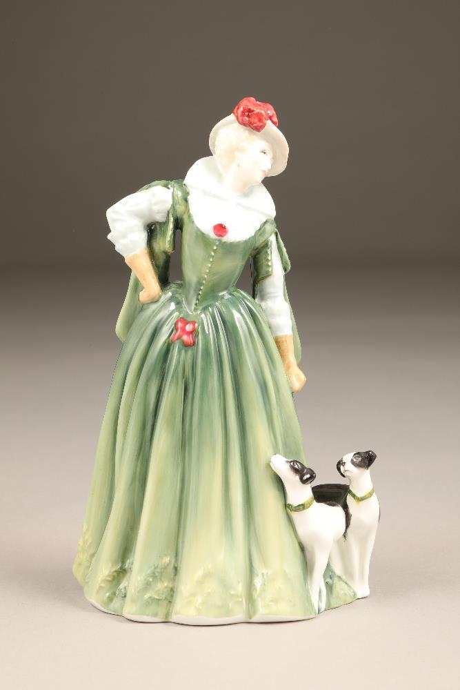 Royal Doulton bone china figure, limited edition, Anne of Denmark, HN 4265, No 388/2500