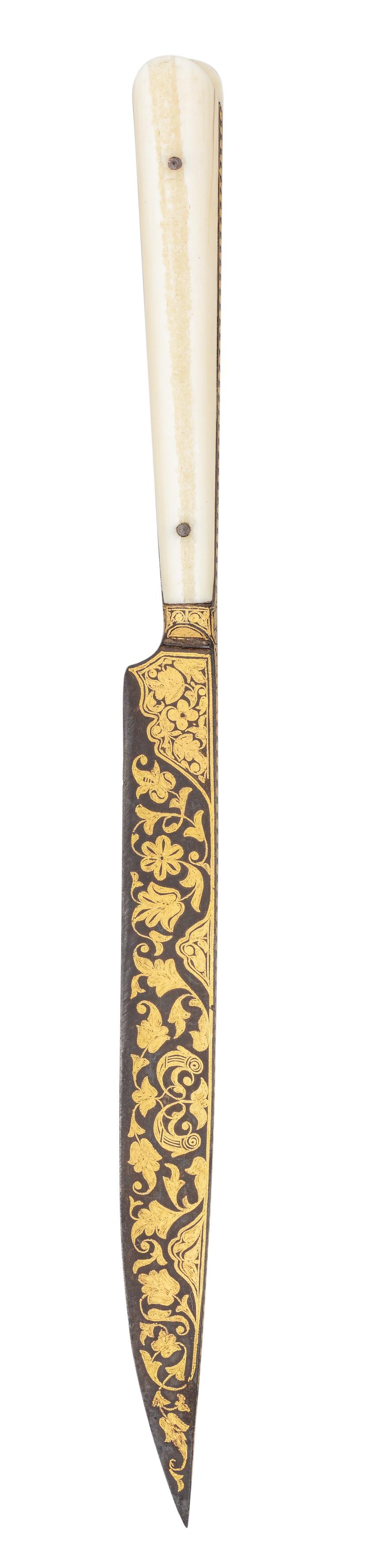 ˜Ⓦ A DAGGER (BICHAQ)^ BALKAN^ SECOND HALF OF THE 18TH CENTURY