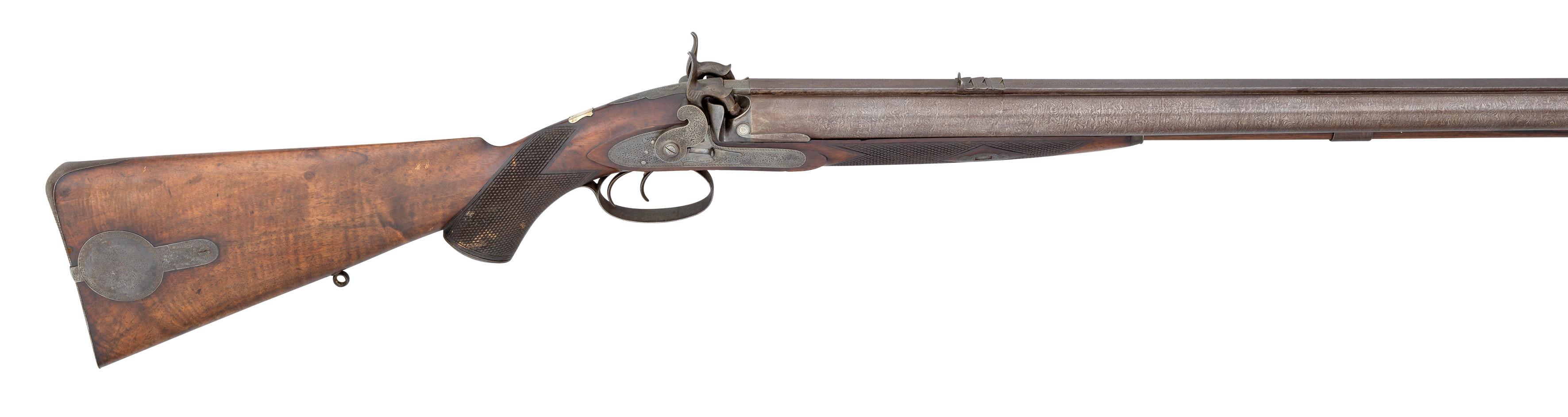 Ⓦ A .650 CALIBRE PERCUSSION BEST QUALITY DOUBLE RIFLE BY ALEXANDER HENRY^ 12 SOUTH ST. ANDREW ST^