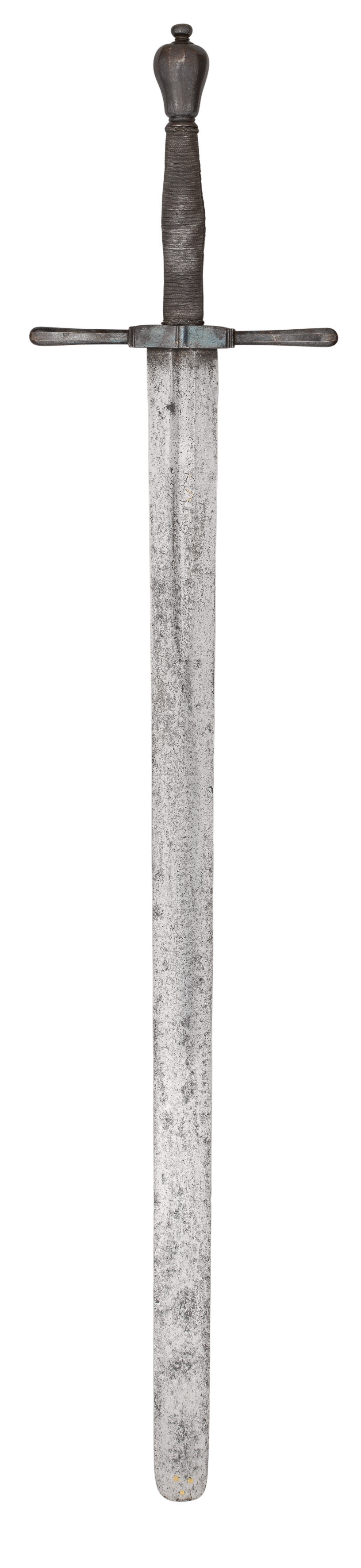 A GERMAN EXECUTIONER~S SWORD^ LATE 17TH CENTURY