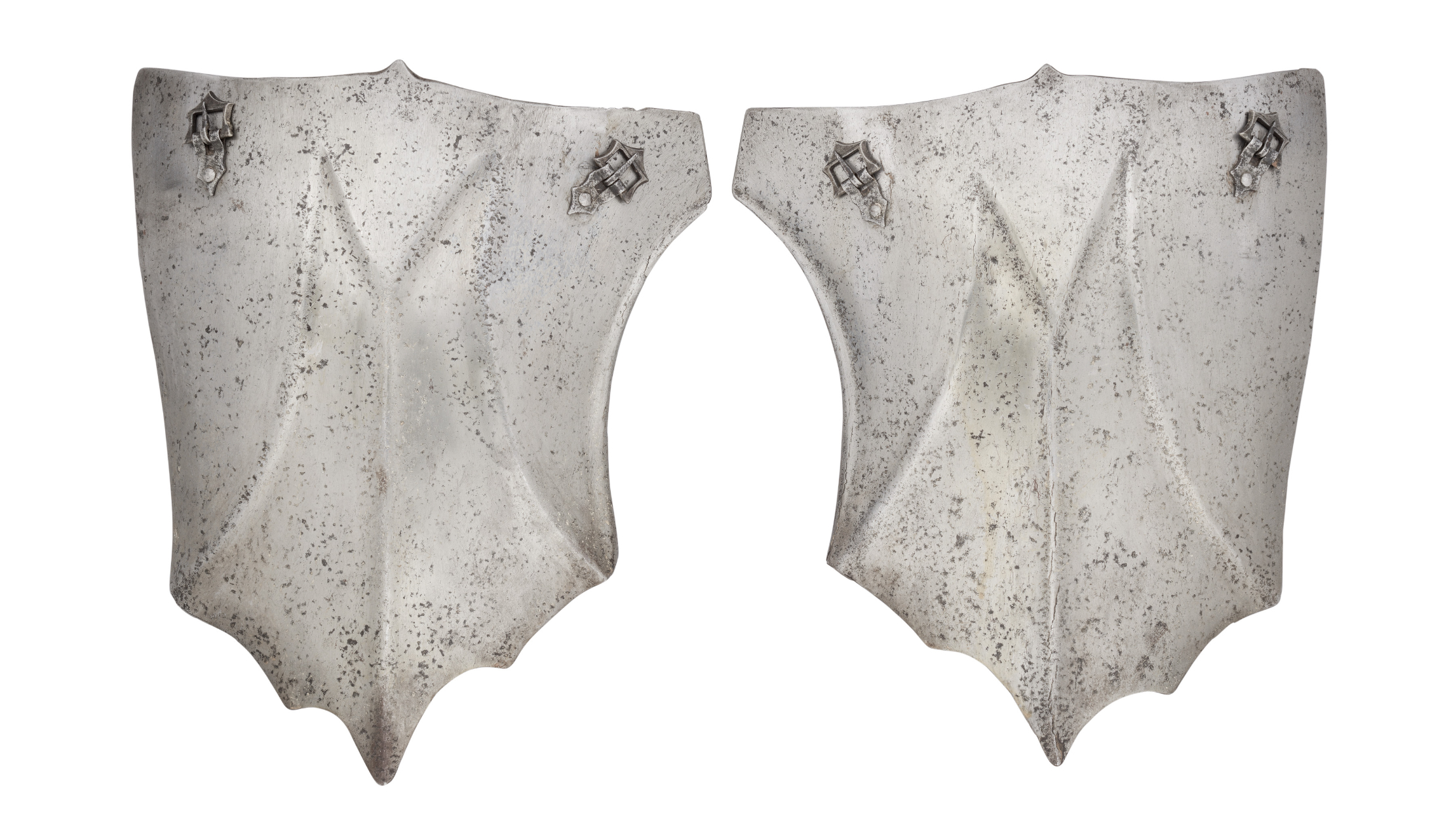 Ⓦ A PAIR OF TASSETS IN THE WESTERN EUROPEAN LATE 15TH CENTURY STYLE