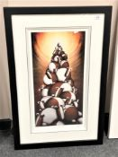 Peter Smith : Pile High Club, giclee print in colours, numbered 19/295, signed in pencil,