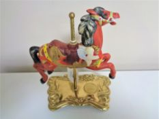 A limited edition American Carousel by Tobin Fraley,