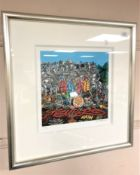Temper (Aaron Bird) : Cover Versions - Graffiti Gang, giclee print in colours, numbered 21/195,