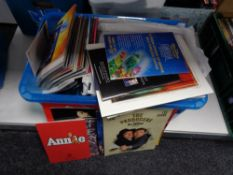 A large quantity of international theatre programmes.
