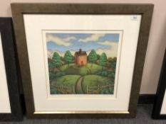 Paul Horton : For Your Good Heart, giclee print in colours, numbered 31/195, signed in pencil,