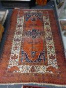 An Ardebil rug, North West Persia,