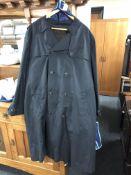An Aqua Dry large gent's raincoat.