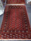 A Tekke rug, Afghanistan,