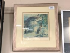 Peter Nikolou : Karlowo, oil on board, signed with initials and dated '93,