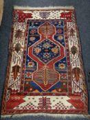 A Turkish Anatolian rug,