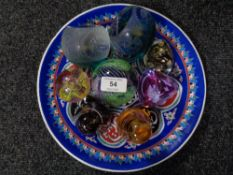 A collection of Caithness paperweights (8)