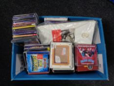A box of CDs - musicials etc
