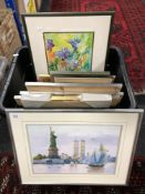 After Steve O'Connell : Nearly Ready, reproduction in colours, numbered 765/4950, signed in pencil,