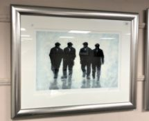 Alexander Millar : Goodfellas, giclee print in colours, numbered 94/395, signed in pencil,