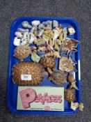 A very large quantity of Wade Whimsies etc CONDITION REPORT: One of the cat dishes