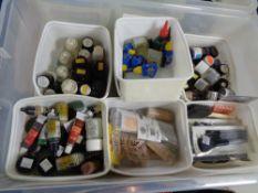 A box of model making glue,