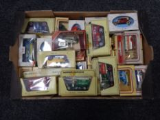 A box of die cast model vehicles, day's gone,