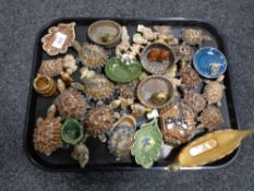 A very large quantity of Wade Whimsies CONDITION REPORT: The viking boat has a chip