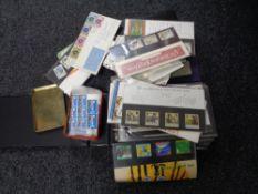 A collection of cigarette card album,