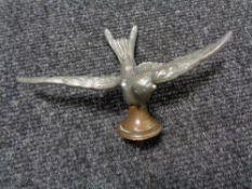 A vintage motor car badge - Swift